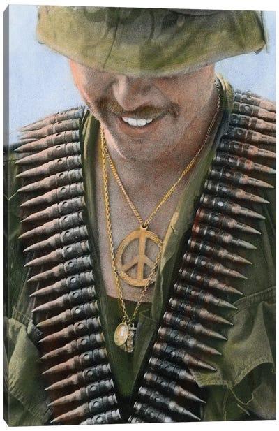 Vietnam: Soldier, 1970 Canvas Art Print