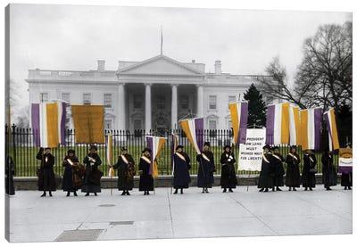 White House: Suffragettes Canvas Art Print