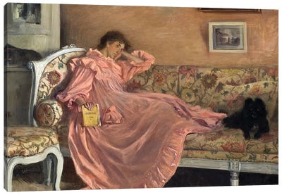 Cederstrom: Carola, C1899 Canvas Art Print