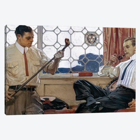 Arrow Shirt Collar Ad, 1914 Canvas Print #GER88} by J.C. Leyendecker Art Print