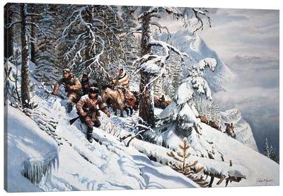 Clymer: Lewis And Clark Canvas Art Print