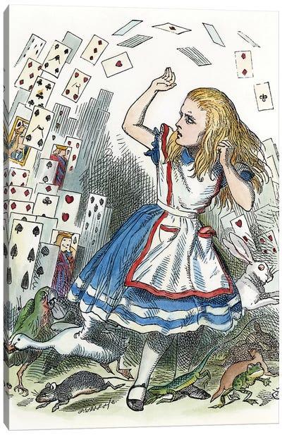 Alice In Wonderland, 1865 Canvas Art Print