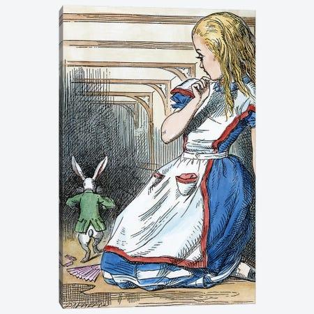 Alice In Wonderland, 1865 Canvas Print #GER95} by John Tenniel Canvas Print