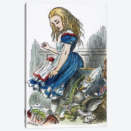 Carroll: Alice, 1865 Canvas Print #GER96} by John Tenniel Art Print