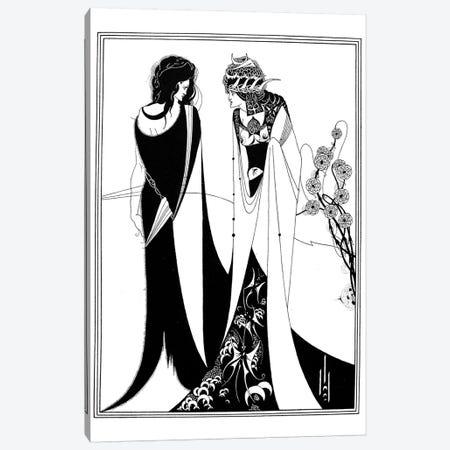 Wilde: Salome Canvas Print #GER9} by Aubrey Beardsley Canvas Wall Art