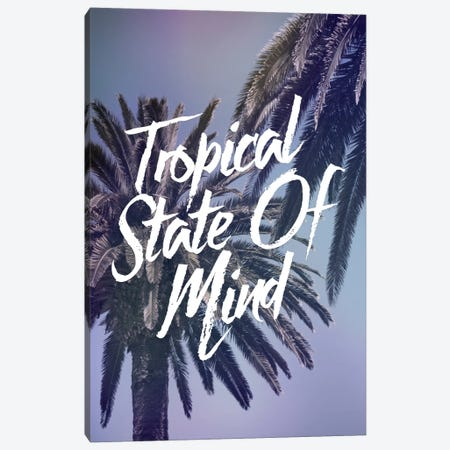 Tropical State Canvas Print #GES100} by Galaxy Eyes Canvas Art Print