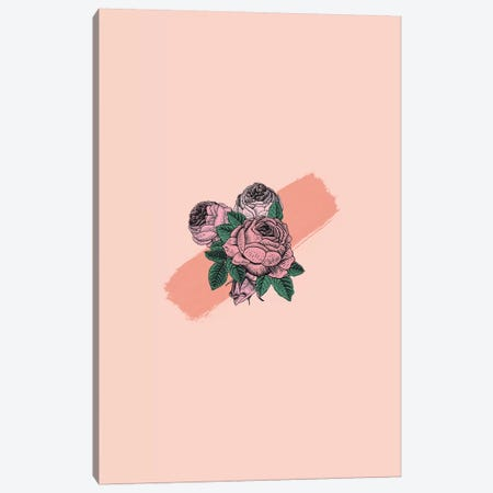 Floralia Canvas Print #GES104} by Galaxy Eyes Canvas Art