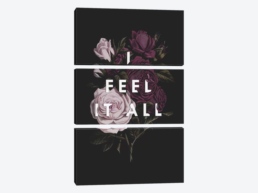 I Feel It All by Galaxy Eyes 3-piece Canvas Wall Art