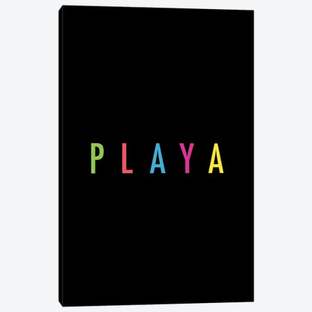PLAYA Canvas Print #GES106} by Galaxy Eyes Canvas Art