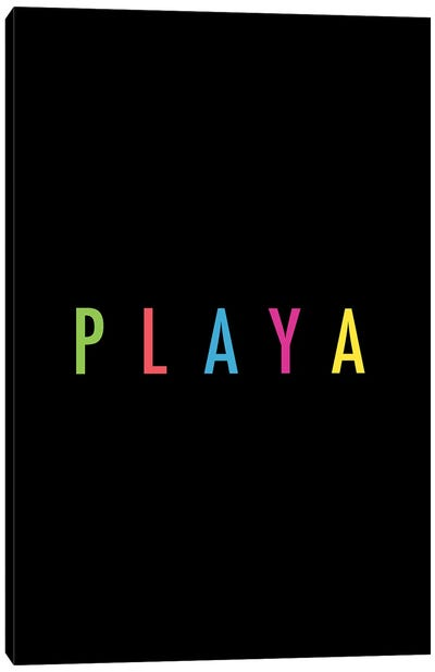 PLAYA Canvas Art Print