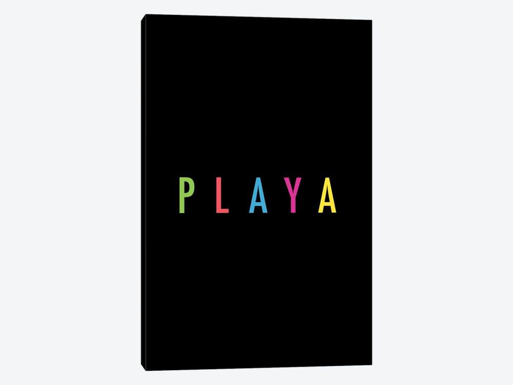 PLAYA by Galaxy Eyes 1-piece Canvas Print