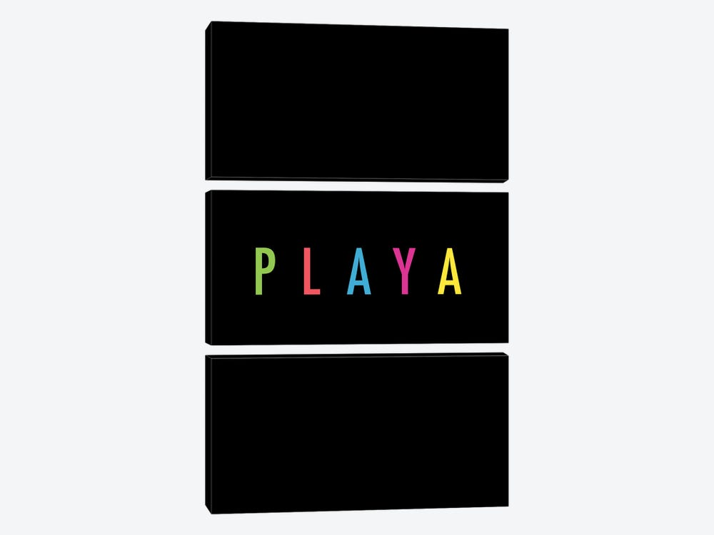 PLAYA by Galaxy Eyes 3-piece Canvas Print