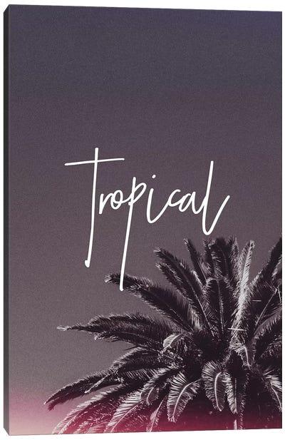Tropical XVI Canvas Art Print