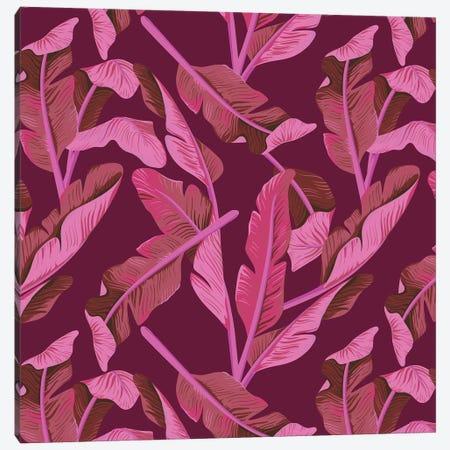 Tropical XVII: Ajaja Canvas Print #GES112} by Galaxy Eyes Canvas Wall Art