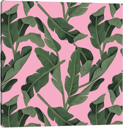 Tropical XVII: Forest Canvas Art Print