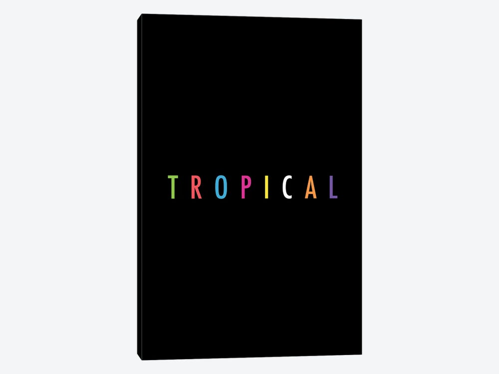 Tropical XVII: Print by Galaxy Eyes 1-piece Canvas Artwork