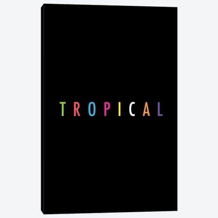 Tropical XVII: Print Canvas Print #GES116} by Galaxy Eyes Art Print