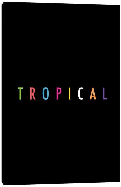 Tropical XVII: Print Canvas Art Print