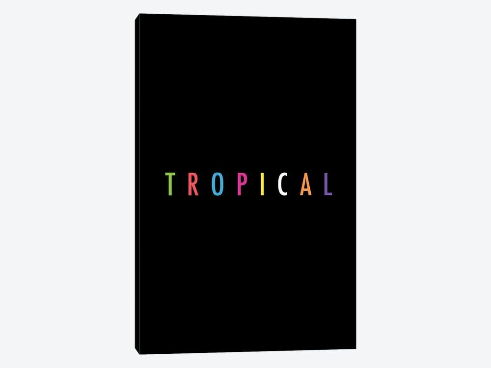 Tropical XVII: Print by Galaxy Eyes 1-piece Canvas Artwork