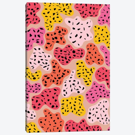 Color Island Canvas Print #GES125} by Galaxy Eyes Canvas Artwork