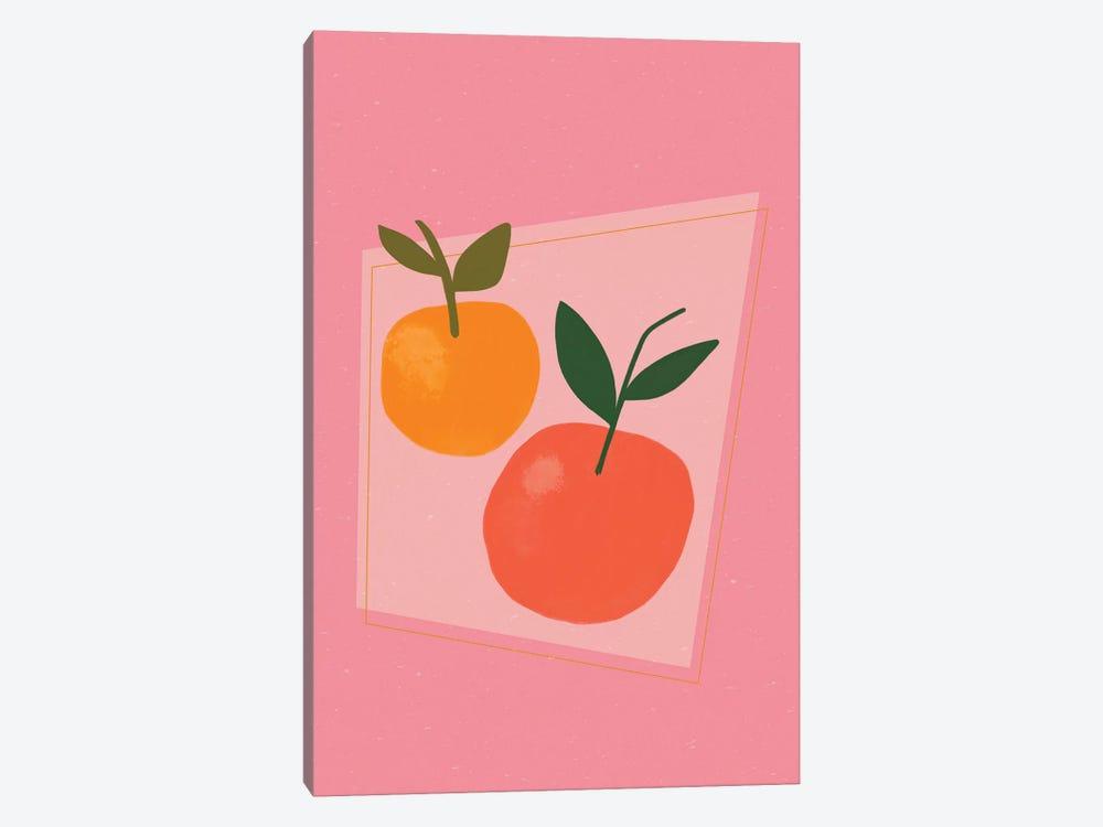 Oranges by Galaxy Eyes 1-piece Canvas Art