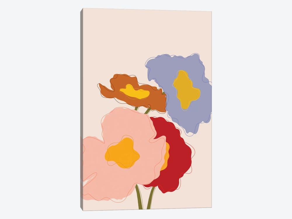 Bouquet I by Galaxy Eyes 1-piece Canvas Print