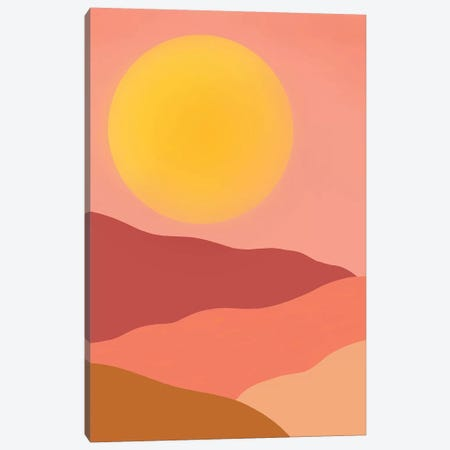 Sol 3-Piece Canvas #GES130} by Galaxy Eyes Canvas Artwork