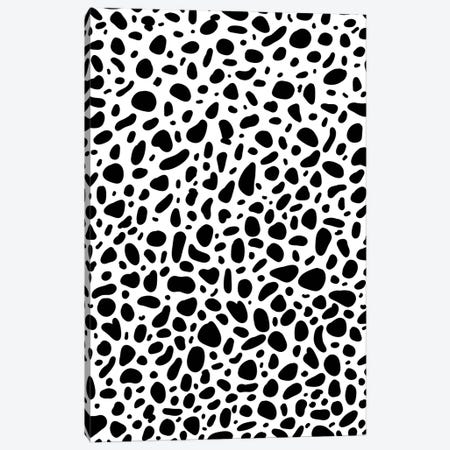 Dalmatian Canvas Print #GES132} by Galaxy Eyes Canvas Wall Art