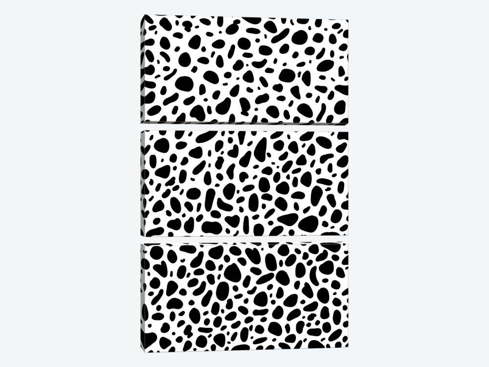 Dalmatian by Galaxy Eyes 3-piece Canvas Wall Art