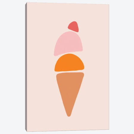 Gelato 3-Piece Canvas #GES136} by Galaxy Eyes Canvas Art Print