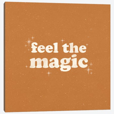 Feel The Magic Canvas Print #GES140} by Galaxy Eyes Canvas Print