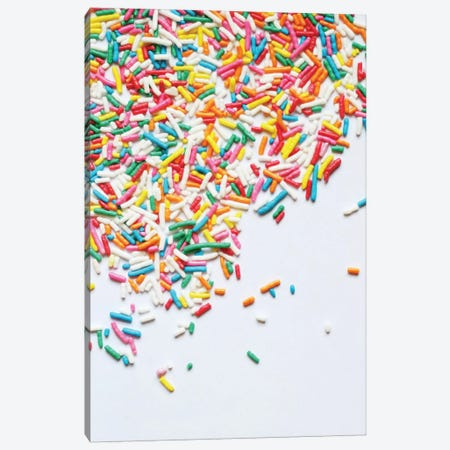 Sprinkles I Canvas Print #GES17} by Galaxy Eyes Canvas Wall Art