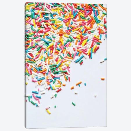 Sprinkles I Canvas Print #GES17} by Galaxy Eyes Canvas Wall Art