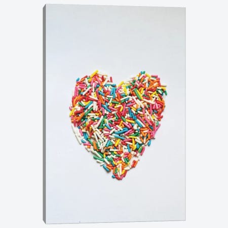 Sprinkles II Canvas Print #GES18} by Galaxy Eyes Art Print