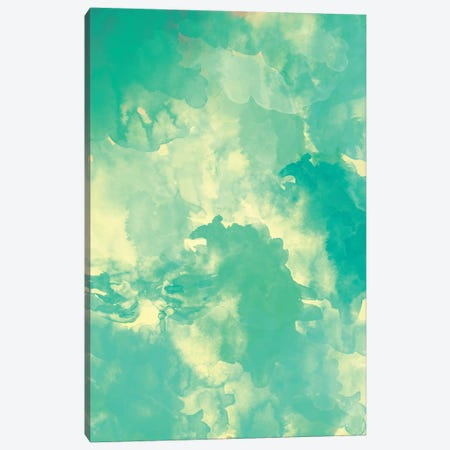 Underwater Canvas Print #GES20} by Galaxy Eyes Canvas Wall Art