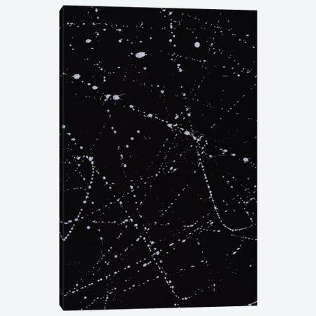 Dazed Confused Black Canvas Print #GES22} by Galaxy Eyes Canvas Artwork