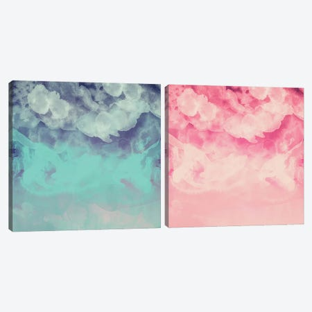 Pure Imagination Diptych Canvas Print Set #GES2HSET001} by Galaxy Eyes Canvas Art