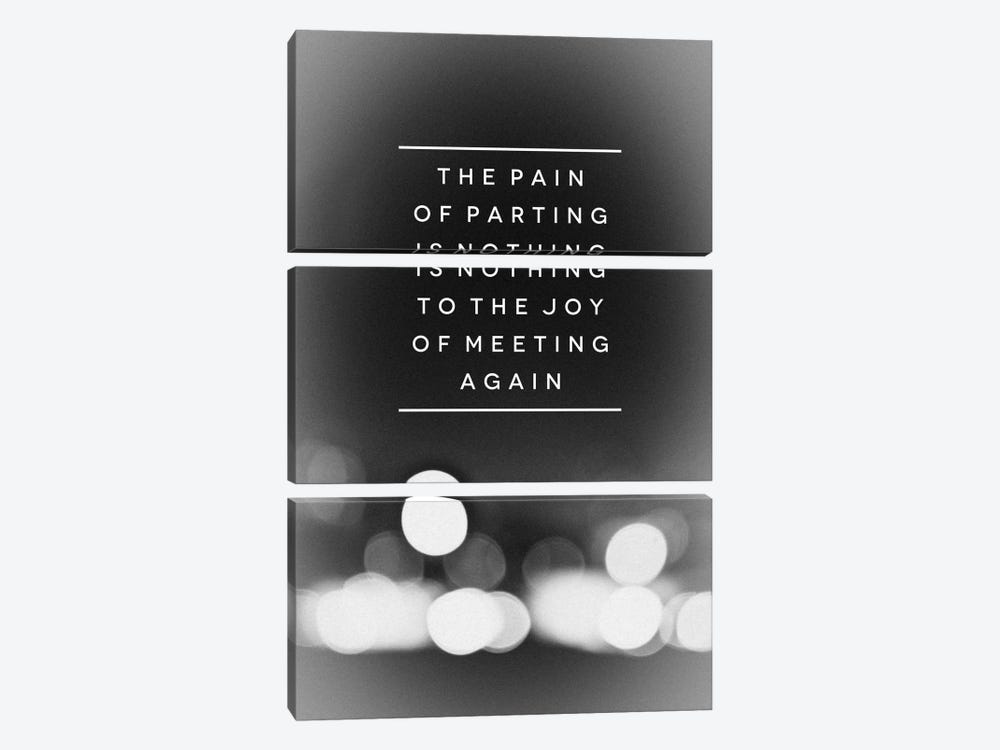 Parting by Galaxy Eyes 3-piece Canvas Art Print