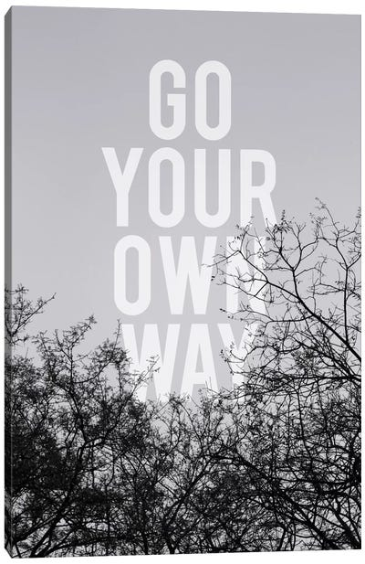 Go Your Own Way Canvas Art Print