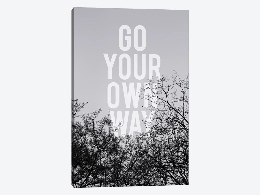 Go Your Own Way by Galaxy Eyes 1-piece Art Print