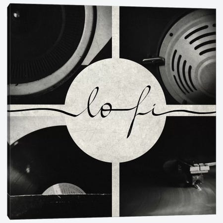 Lo-fi Canvas Print #GES37} by Galaxy Eyes Canvas Artwork