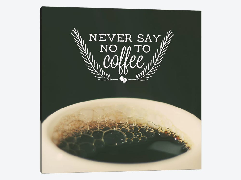 Never Say No by Galaxy Eyes 1-piece Canvas Art