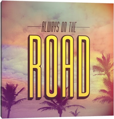 On The Road Canvas Print #GES41