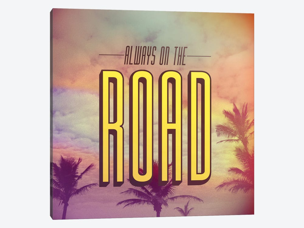 On The Road 1-piece Canvas Art Print