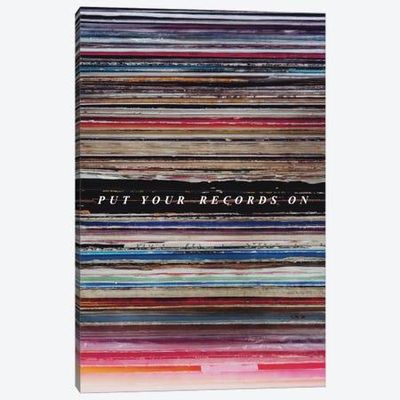 Record Son Canvas Print #GES42} by Galaxy Eyes Canvas Wall Art