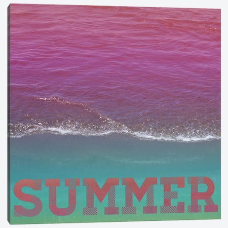 Summer Canvas Print #GES45} by Galaxy Eyes Canvas Print