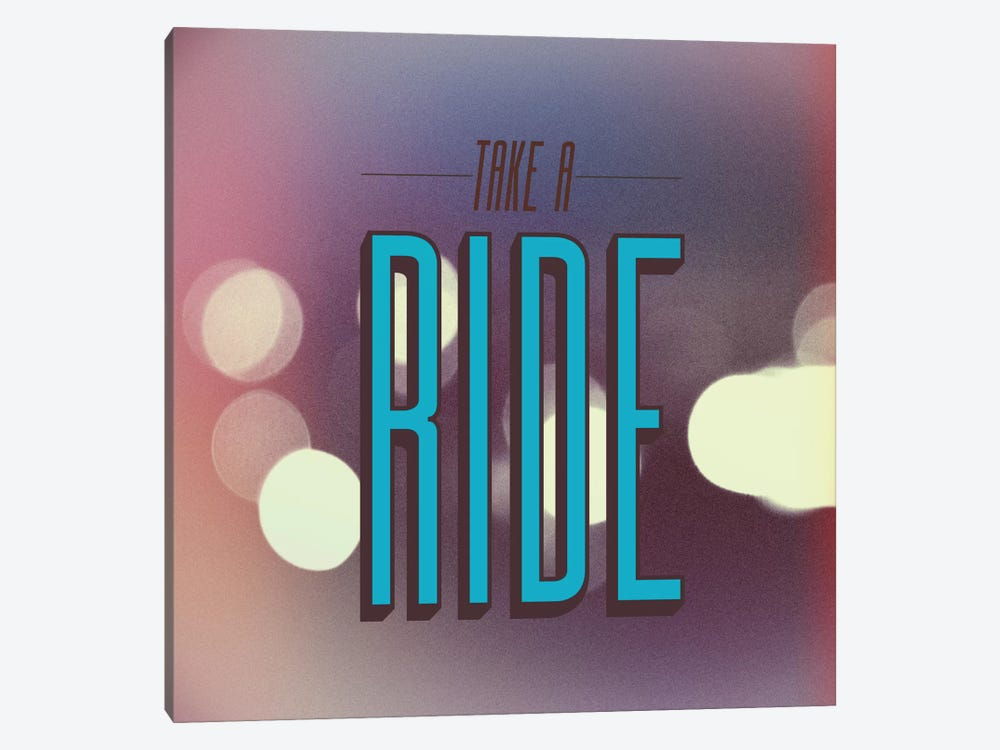 Take A Ride by Galaxy Eyes 1-piece Canvas Artwork