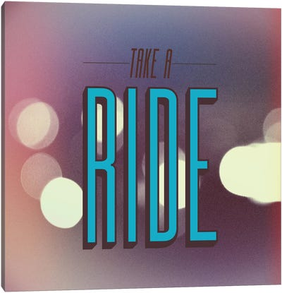Take A Ride Canvas Art Print