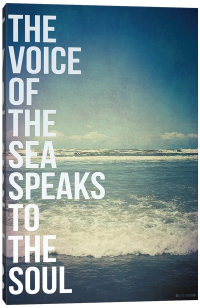 Voice of the Sea Canvas Art Print