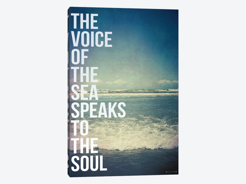 Voice of the Sea by Galaxy Eyes 1-piece Canvas Print